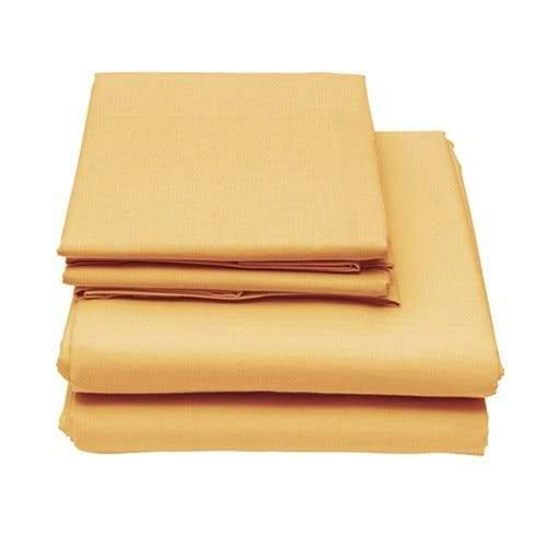 6-Piece Set: Egyptian Comfort 1600 Count Deep Pocket Bed Sheets Bed & Bath Twin Butter - DailySale