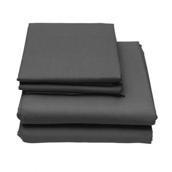 6-Piece Set: Egyptian Comfort 1600 Count Deep Pocket Bed Sheets Bed & Bath Twin Dark Gray - DailySale