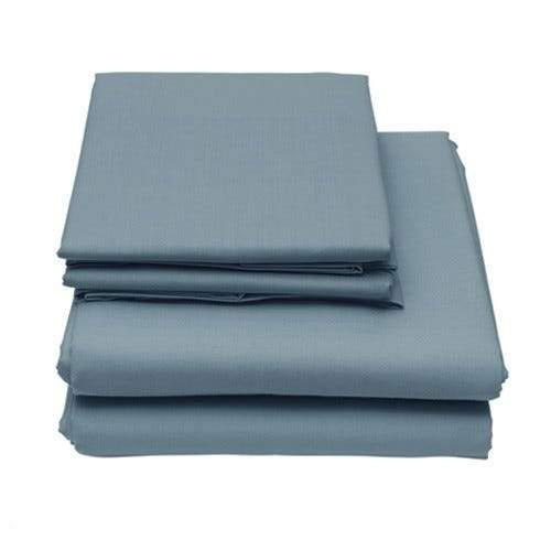 6-Piece Set: Egyptian Comfort 1600 Count Deep Pocket Bed Sheets Bed & Bath Twin Denim Blue - DailySale
