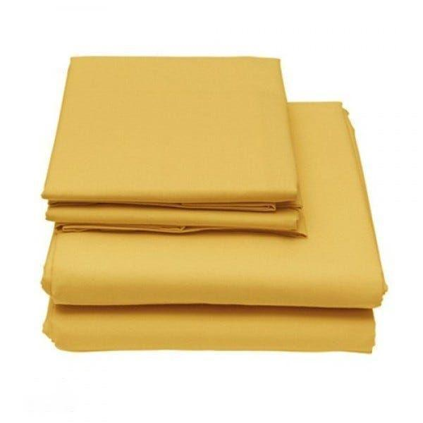 6-Piece Set: Egyptian Comfort 1600 Count Deep Pocket Bed Sheets Bed & Bath Twin Gold - DailySale