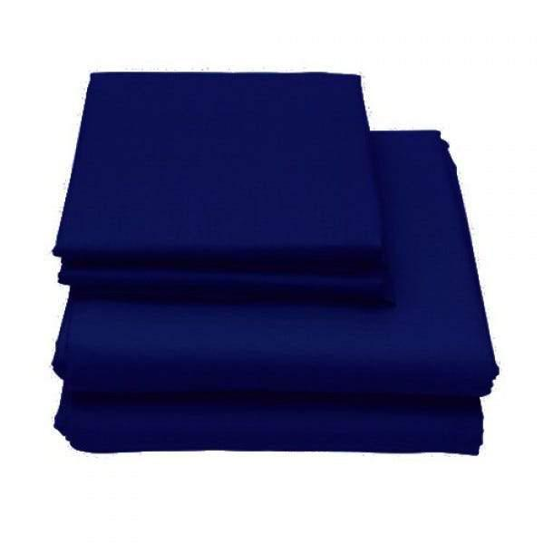 6-Piece Set: Egyptian Comfort 1600 Count Deep Pocket Bed Sheets Bed & Bath Twin Navy - DailySale