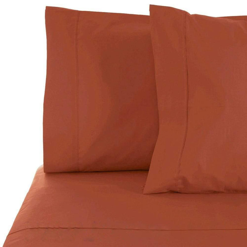 6-Piece Set: Egyptian Comfort 1600 Count Deep Pocket Bed Sheets Bed & Bath Twin Orange - DailySale