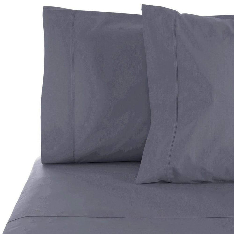 6-Piece Set: Egyptian Comfort 1600 Count Deep Pocket Bed Sheets Bed & Bath Twin Oxford Blue - DailySale
