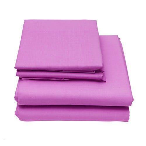 6-Piece Set: Egyptian Comfort 1600 Count Deep Pocket Bed Sheets Bed & Bath Twin Pink - DailySale