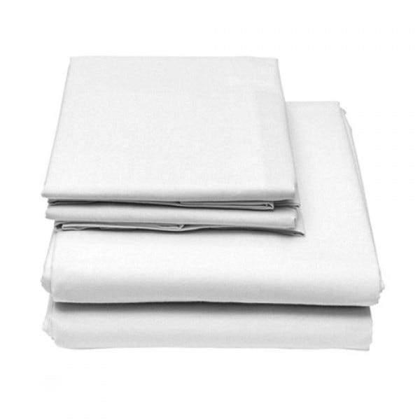 6-Piece Set: Egyptian Comfort 1600 Count Deep Pocket Bed Sheets Bed & Bath Twin White - DailySale