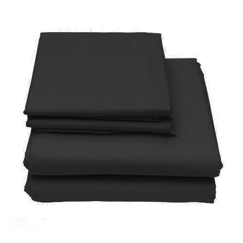 6-Piece Set: Egyptian Comfort 1600 Count Deep Pocket Bed Sheets - More Colors Bed & Bath Twin Black - DailySale