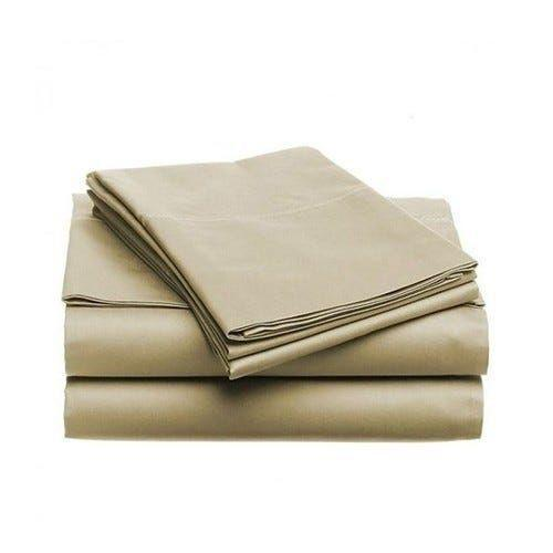 6-Piece Set: Egyptian Comfort 1600 Count Deep Pocket Bed Sheets - More Colors Bed & Bath Twin Khaki - DailySale