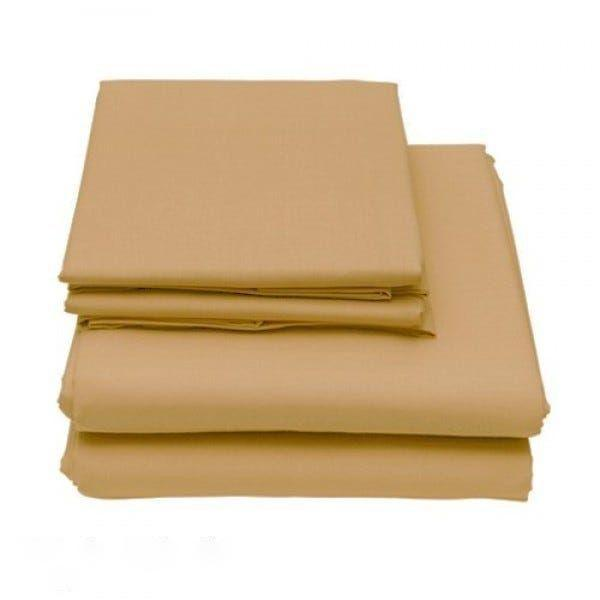 6-Piece Set: Egyptian Comfort 1600 Count Deep Pocket Bed Sheets - More Colors Bed & Bath Twin Light Khaki - DailySale