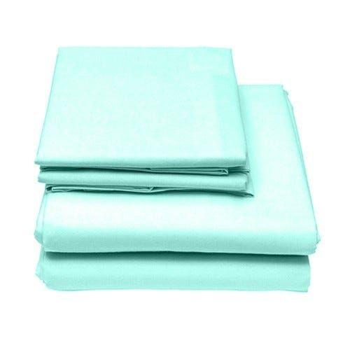 6-Piece Set: Egyptian Comfort 1600 Count Deep Pocket Bed Sheets - More Colors Bed & Bath Twin Light Teal - DailySale