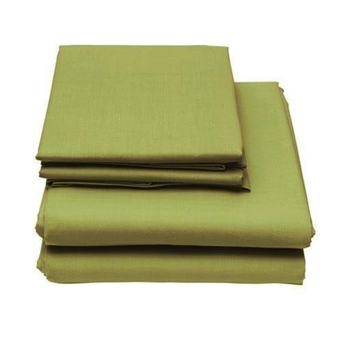 6-Piece Set: Egyptian Comfort 1600 Count Deep Pocket Bed Sheets - More Colors Bed & Bath Twin Lime - DailySale