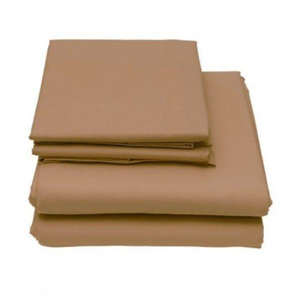 6-Piece Set: Egyptian Comfort 1600 Count Deep Pocket Bed Sheets - More Colors Bed & Bath Twin Taupe - DailySale