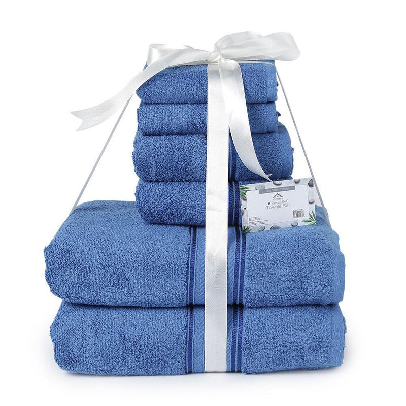 6-Piece: Ultra Soft Towel Set