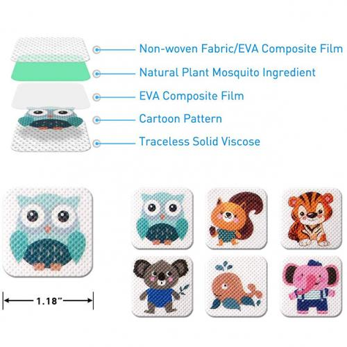 60-Pack: Mosquito Repellent Patches Pest Control - DailySale