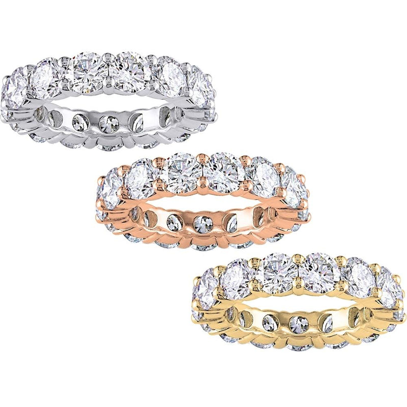 6.00 CTTW Cubic Zirconia Eternity Band - Assorted Sizes Jewelry - DailySale