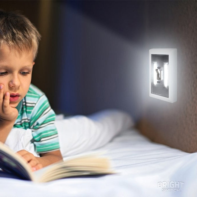 2-Pack: Ultra Bright, LED Light Switch, Stick Anywhere - DailySale, Inc