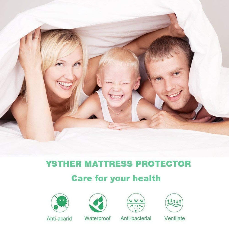 BeautySleep Waterproof Mattress Protector Premium Hypoallergenic Cover Cotton Terry Surface - Assorted Sizes - DailySale, Inc