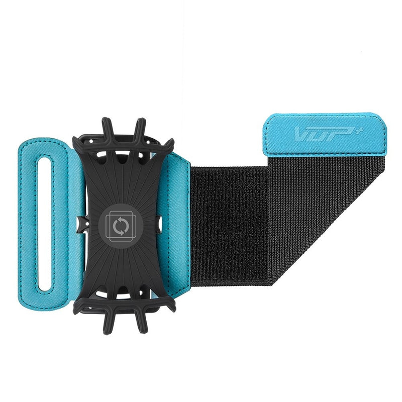 VUP Wristband Phone Holder, 180° Rotatable, Great for Hiking, Biking, Walking, Running - Assorted Colors - DailySale, Inc