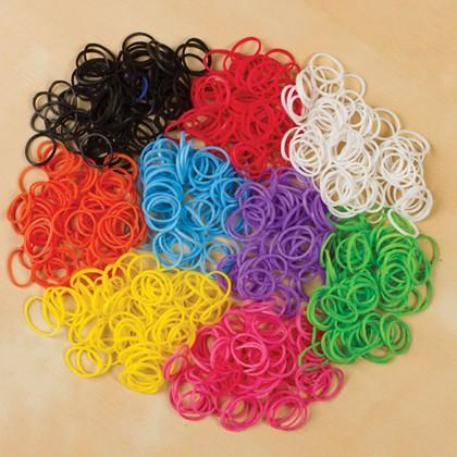 626 Piece Set Colorful Loom Bandz and Tools Assorted Colors Toys & Games - DailySale