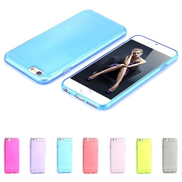 Super Flexible Clear TPU Case For iPhone 6/6s or iPhone 6/6s Plus - DailySale, Inc