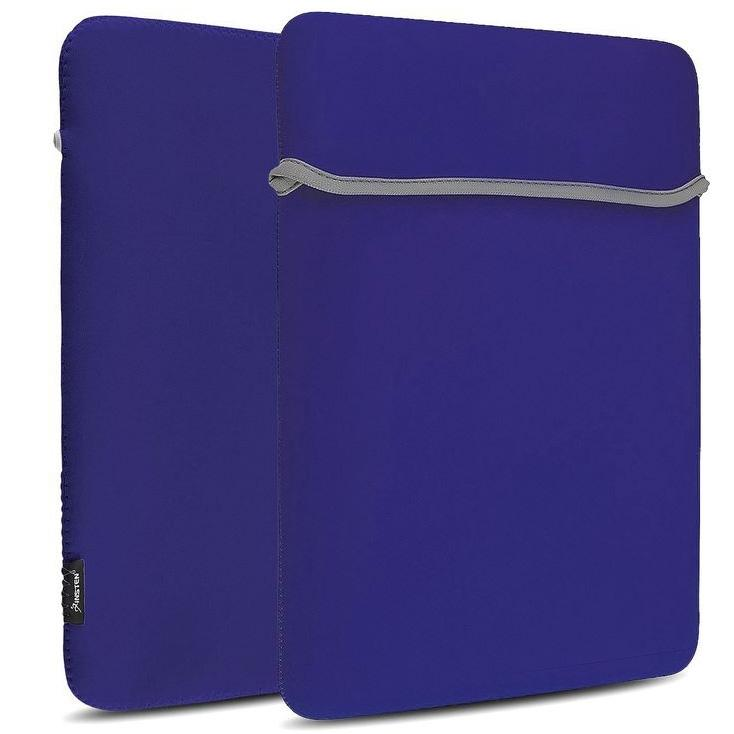"7"" Sleeve Case Bag Pouch Cover Reversible for Laptop or Tablet Gadgets & Accessories Blue - DailySale"