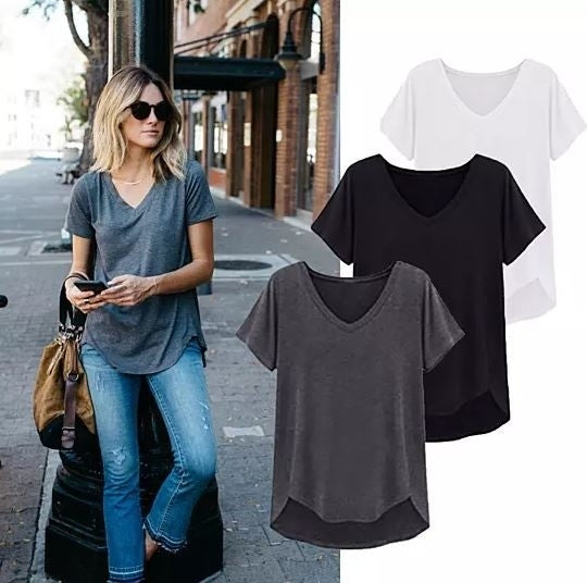 Loose Cut Casual Short Sleeve Top - Assorted Colors and Sizes - DailySale, Inc