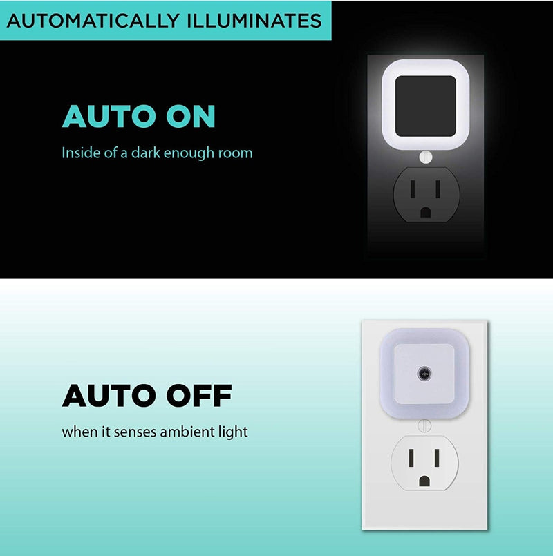 6-Pack: Plug-in LED Night Light - DailySale, Inc