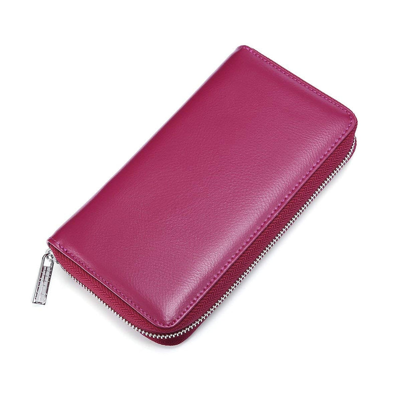 RFID 36 Card Slots Holder Long Clutch Wallet - Assorted Colors - DailySale, Inc