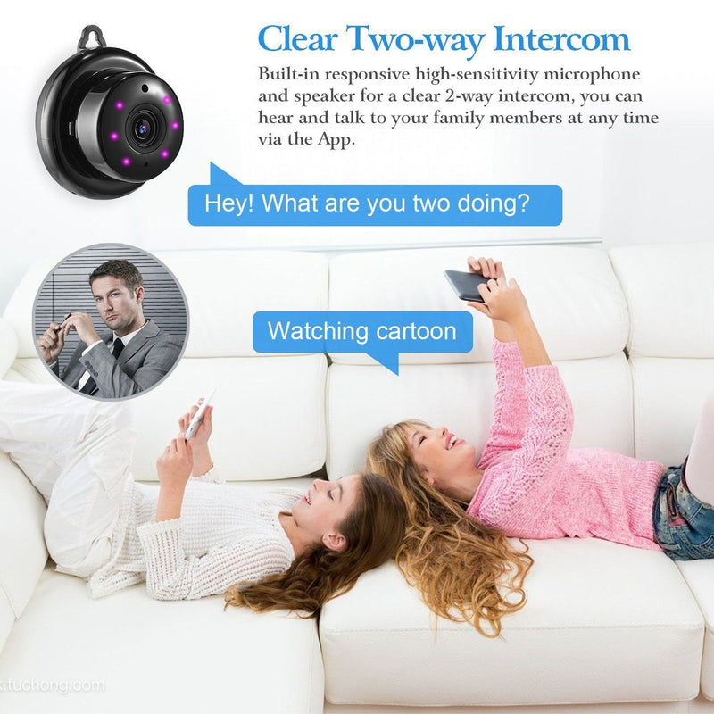 720 WIFI IP Camera Motion Detection Cameras & Drones - DailySale