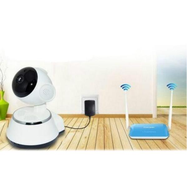 720P WiFi Wireless Pan Tilt CCTV Camera, TV & Video - DailySale