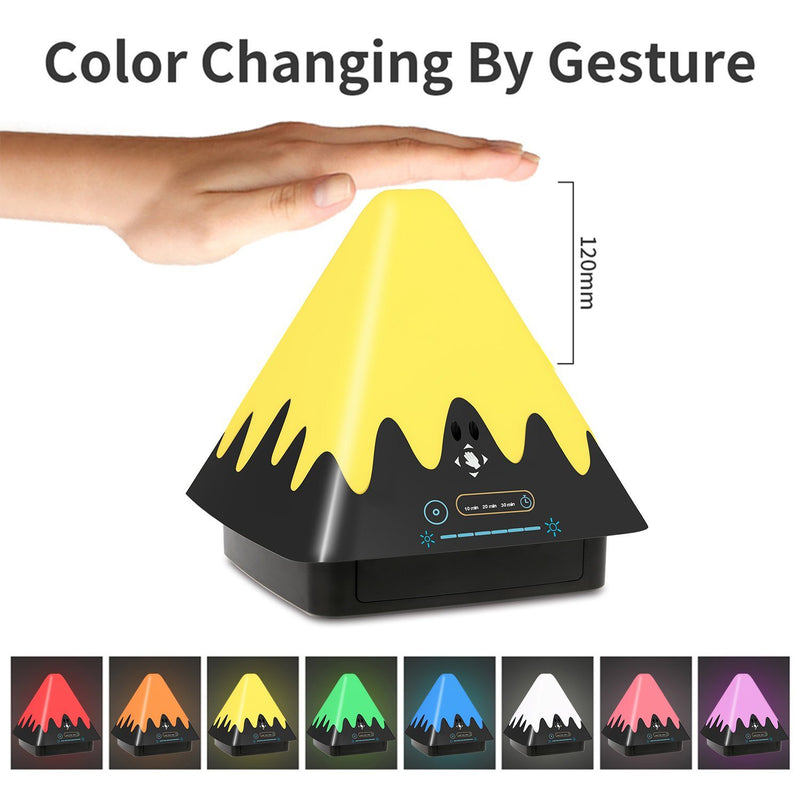 8-Color Touch Control Night Light Indoor Lighting - DailySale