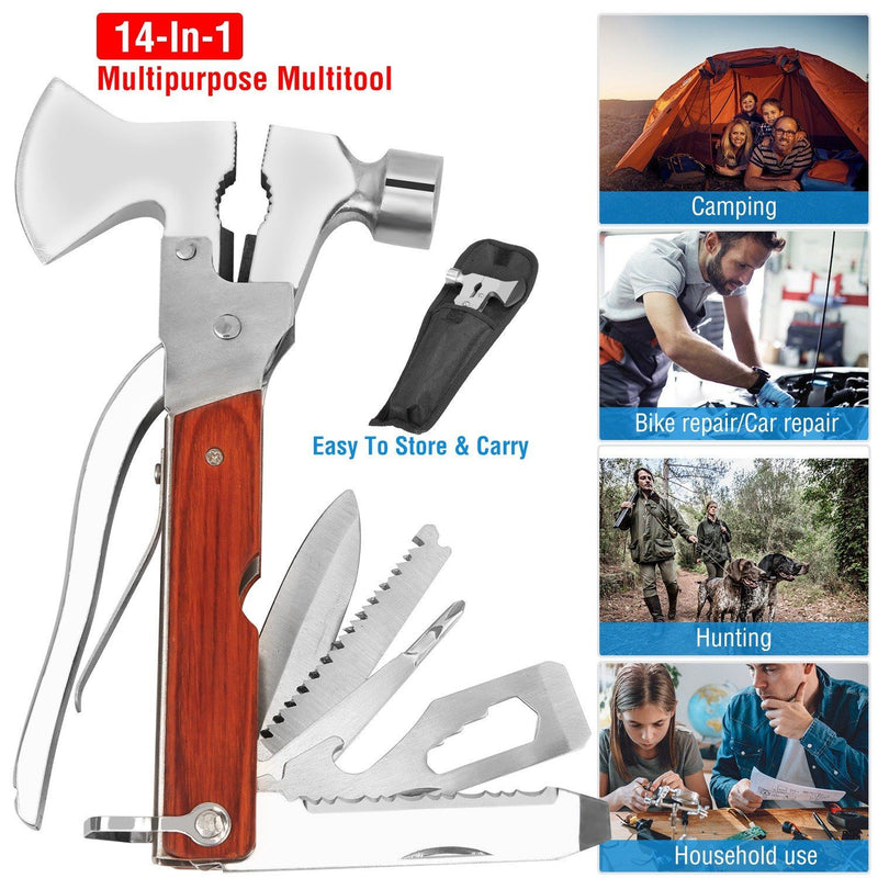 8-in-1 Hammer Tool Set Sports & Outdoors - DailySale