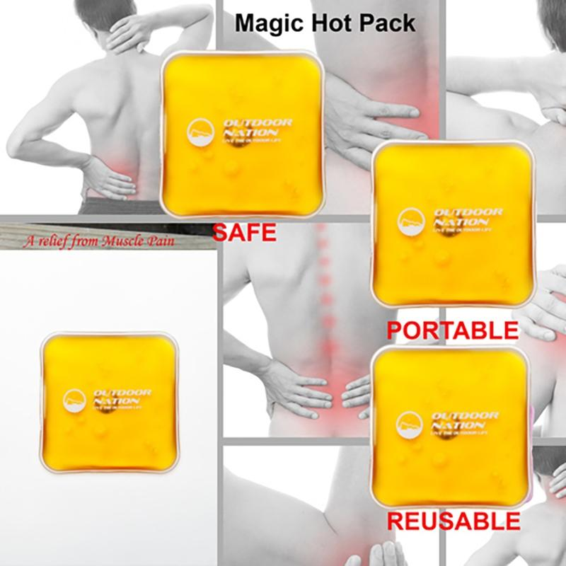 8-Pack: Outdoor Nation Reusable Heating Packs Wellness & Fitness - DailySale