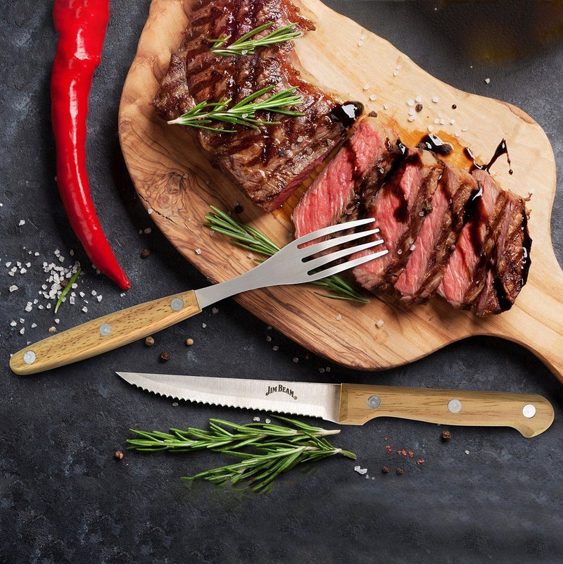 8-Piece Set: Steak Knife and Fork Set Kitchen Essentials - DailySale
