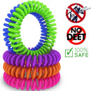 12-Pack: Deet-Free Mosquito & Insect Repellent Bracelets - DailySale, Inc