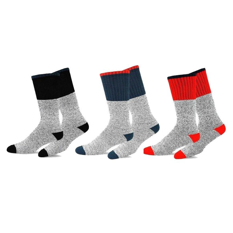 9-Pairs: Insulated Men's Thermal Cold Weather Crew Socks Men's Apparel - DailySale