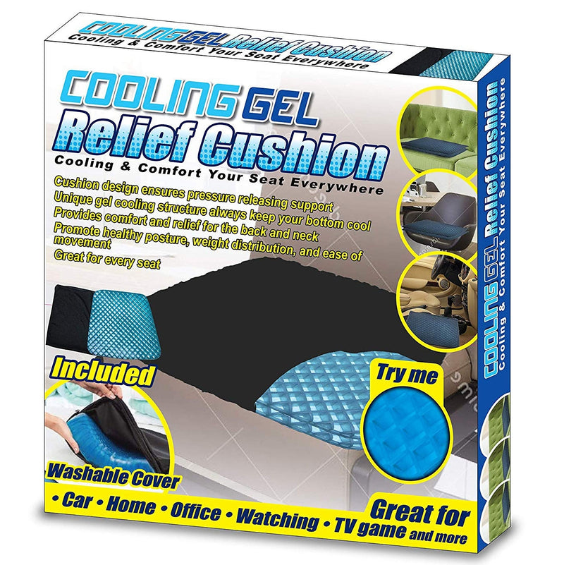 Miracle Gel Cooling Cushion - DailySale, Inc