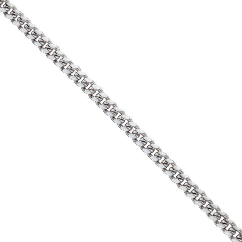 925 Sterling Silver Italian Miami Cuban Curb Link Chain Necklace