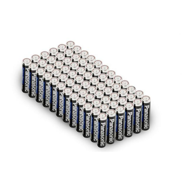 96-Pack: Panasonic Super Heavy Duty Batteries Gadgets & Accessories AAA - DailySale