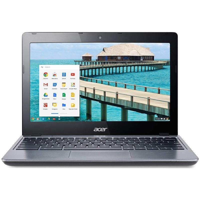"Acer 11.6"" Chromebook Black Laptop Tablets & Computers 2GB RAM - DailySale"