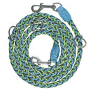 Adjustable and Stretchable Reflective Double Dog Leash Pet Supplies XS Green - DailySale