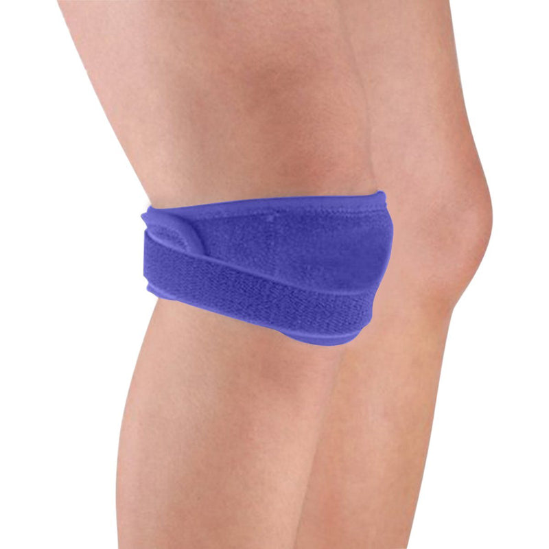 Adjustable Patella Tendon Support Sports & Outdoors Blue - DailySale