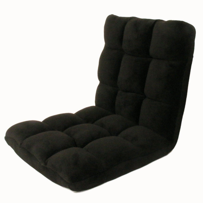 Adjustable Recliner Rocker Memory Foam Floor Ergonomic Gaming Chair Furniture & Decor Black - DailySale