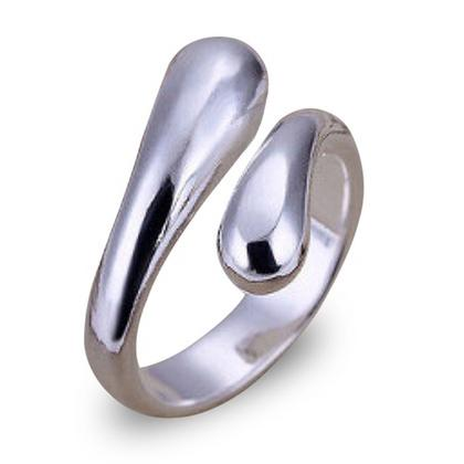 Adjustable Tear Drop Ring