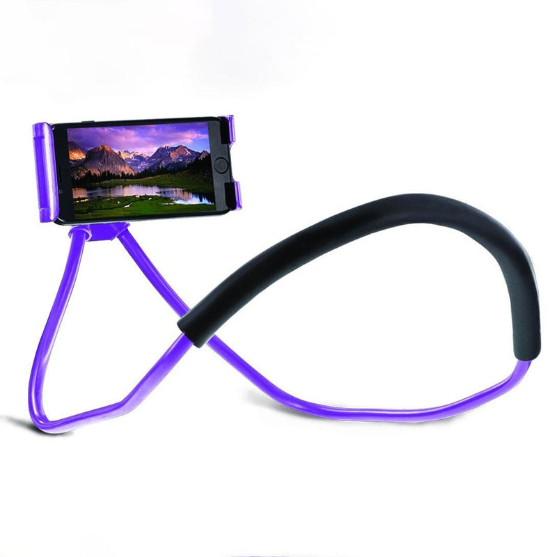 Aduro Lounger Universal Adjustable Gooseneck Cell Phone Mount Holder Phones & Accessories Purple - DailySale
