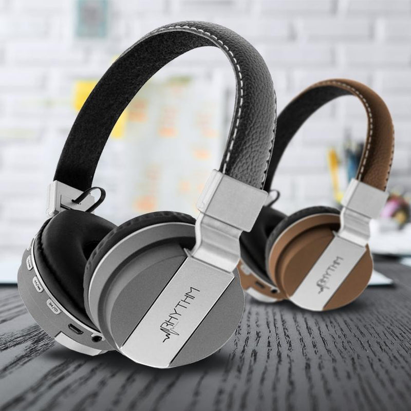 Aduro Pop Soul Leather Wireless Headphones Headphones & Speakers - DailySale