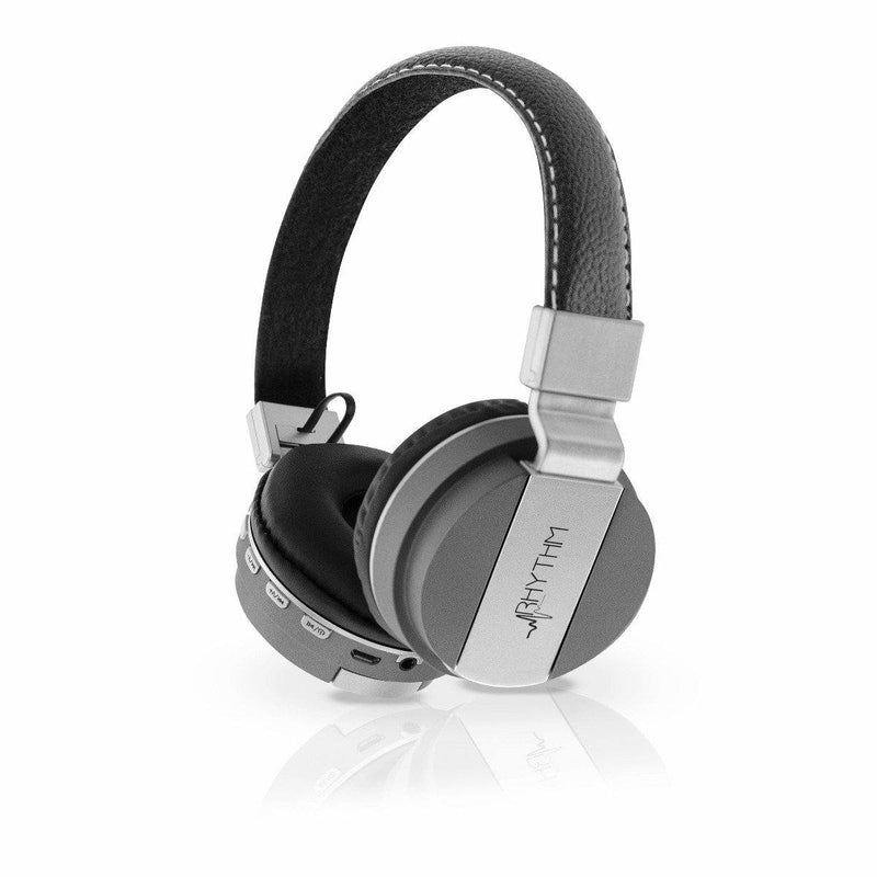 Aduro Pop Soul Leather Wireless Headphones Headphones & Speakers Gray - DailySale