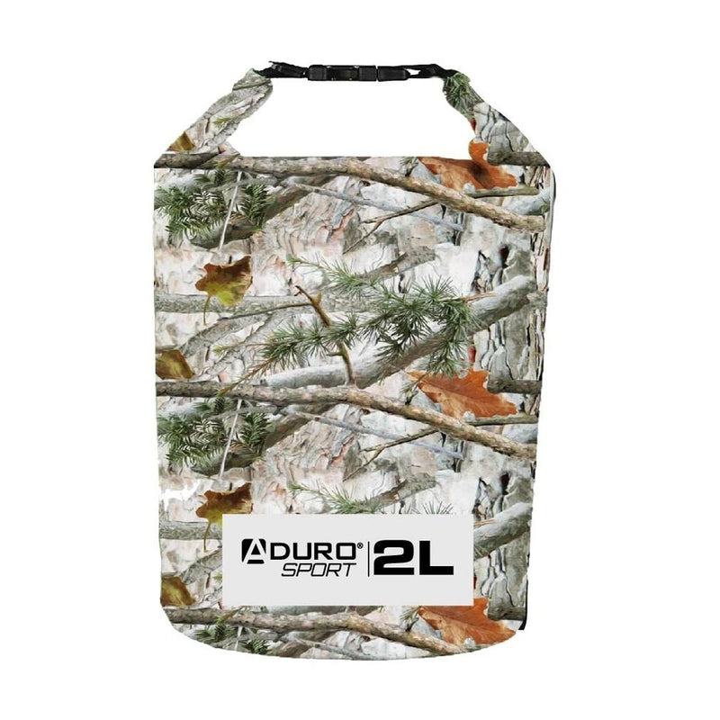 Aduro Sport Floating Waterproof Dry Bag Sports & Outdoors 2 Liter Camo - DailySale