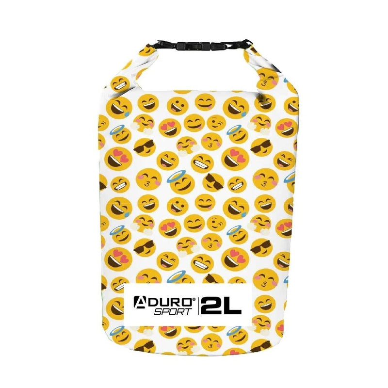 Aduro Sport Floating Waterproof Dry Bag Sports & Outdoors 2 Liter Emoji - DailySale