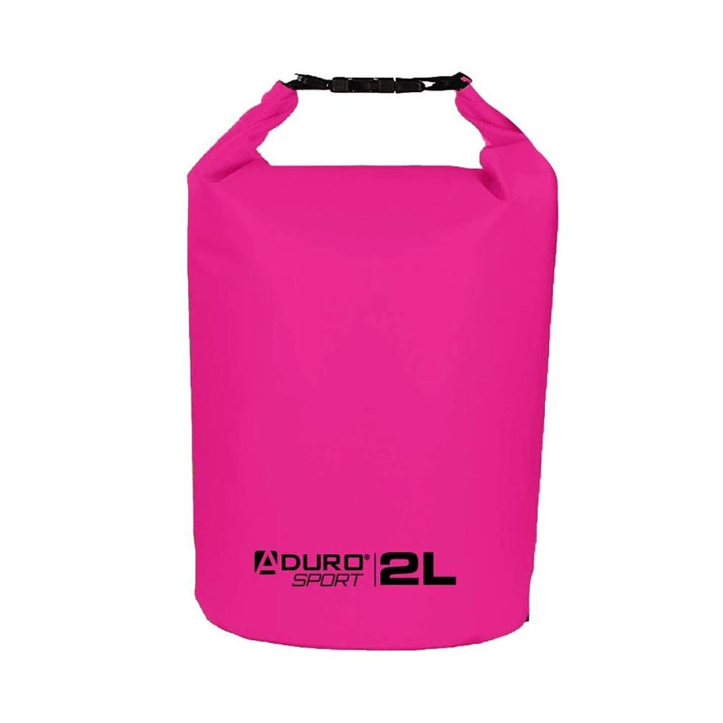 Aduro Sport Floating Waterproof Dry Bag Sports & Outdoors 2 Liter Pink - DailySale