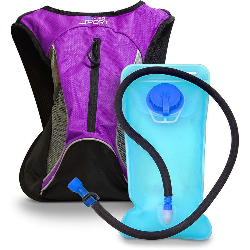 Aduro Sport Hydro-Pro Hydration Backpacks Sports & Outdoors 1.5 Liter Purple - DailySale